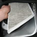 Peugeot 206 - Changing cabin filter - Removing old filter