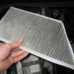 Peugeot 206 - Changing cabin filter - The filter
